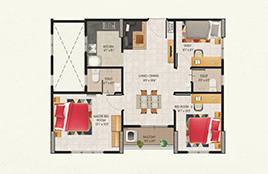 3 bhk apartments for sale in Guduvanchery Chennai below 35 lakhs