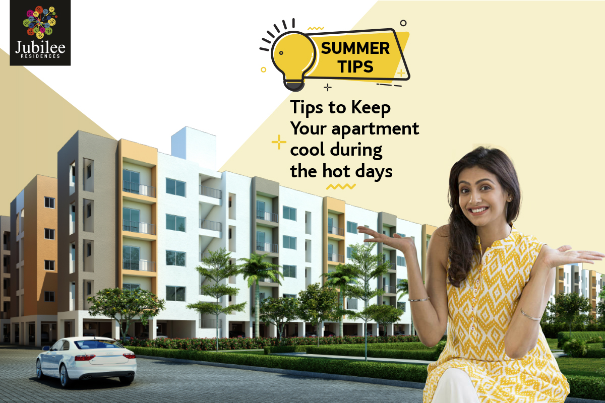 Tips to Keep Your apartment cool during the hot days